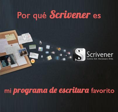 Por qué Scrivener es mi programa de escritura favorito