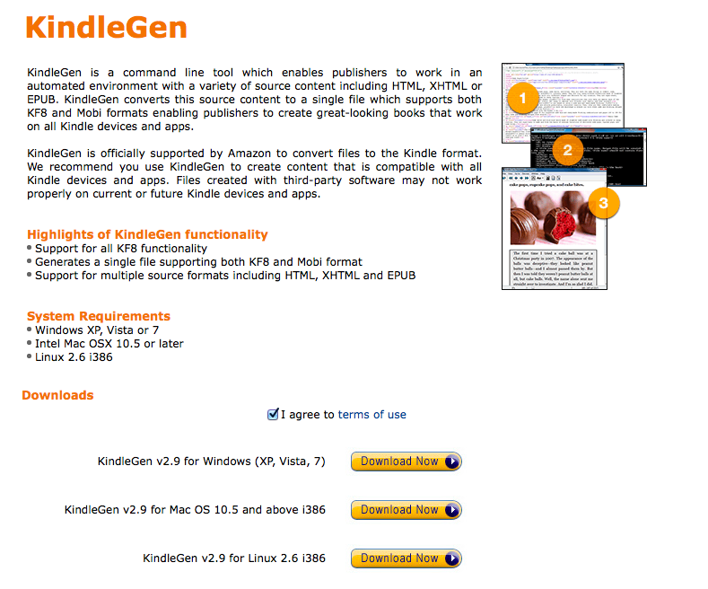 KindleGen de Amazon