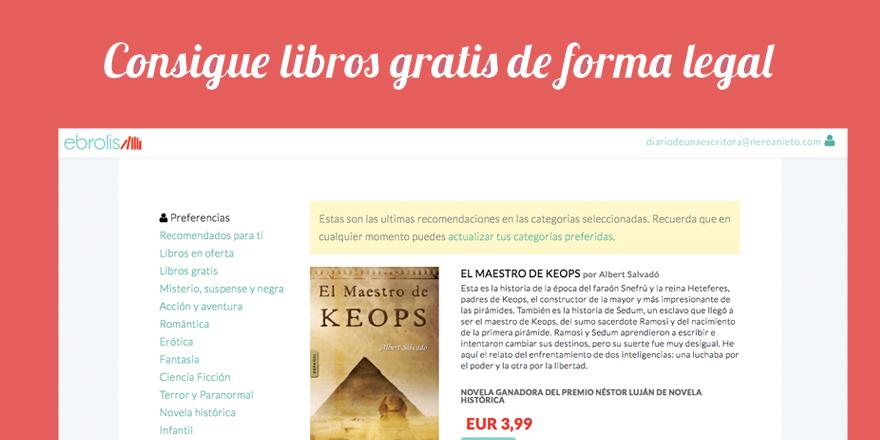 Ebrolis: libros gratis de forma legal
