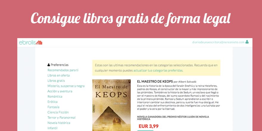Ebrolis: libro gratis de forma legal