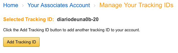 Añadir tracking ID Amazon