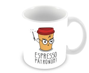 Espresso Patronum taza de Harry Potter