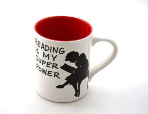 Leer es mi superpoder taza